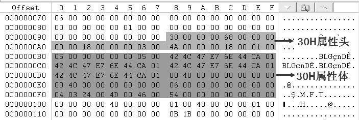 30H($FILE_NAME)属性分析