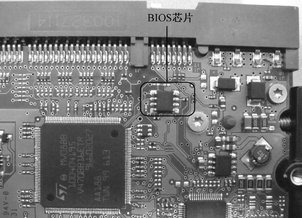 硬盘电路板BIOS故障