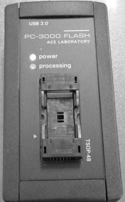 用PC-3000 Flash直接提取U盘闪存芯片的数据