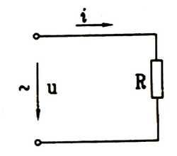 交流电纯电阻电路图