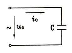 纯电容电路