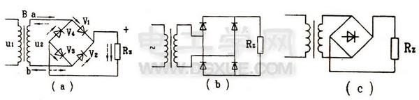 单相桥式整流电路
