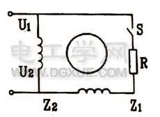 单相电阻启动电动机