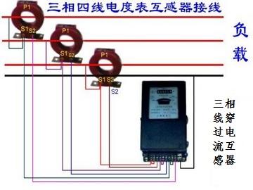 单相电表接线图和三相电表接线图解