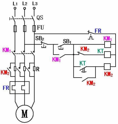 串电阻降压启动