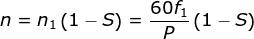 电动机转速差公式