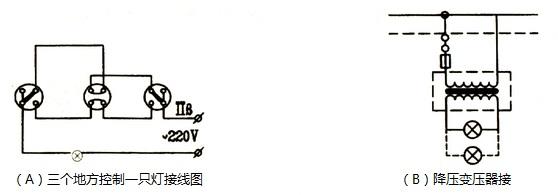 照明电路接线,施工讲解(广州电工操作证培训班)