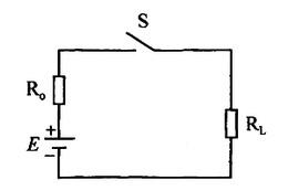 手电筒的电路模型