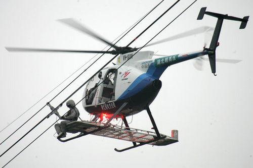 直升机带电作业