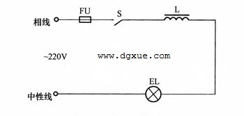 高压汞灯接线电路