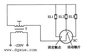霓虹灯(氖气灯)高压旋转滚筒式控制电路