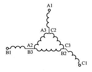 延边三角形连接