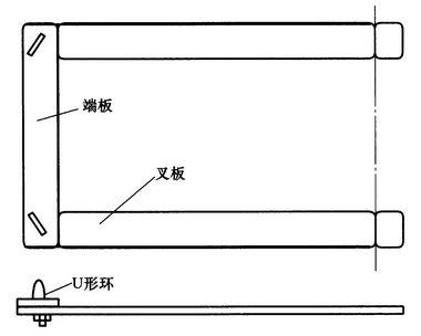 托瓶板结构图