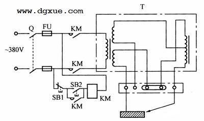 交流电焊机控制电路
