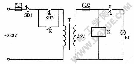 低压变座器短路保护电路