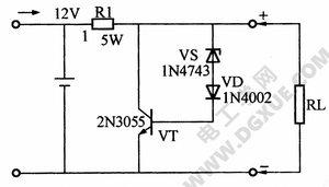 铅酸电池过充保护器电路