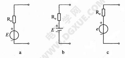 电压源模型电路