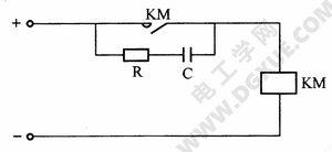 消除直流接触器、继电器电弧的电路图