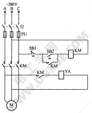 防止制动电磁铁延时释放电路