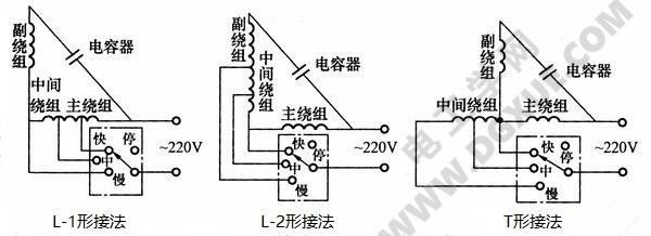 风扇电机热敏开关接线图