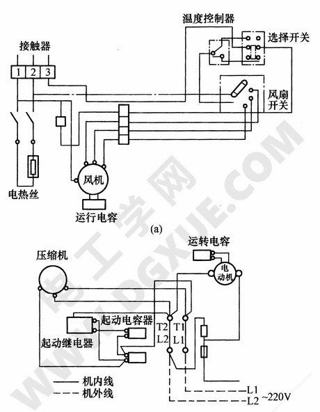 分体式空调器电路图