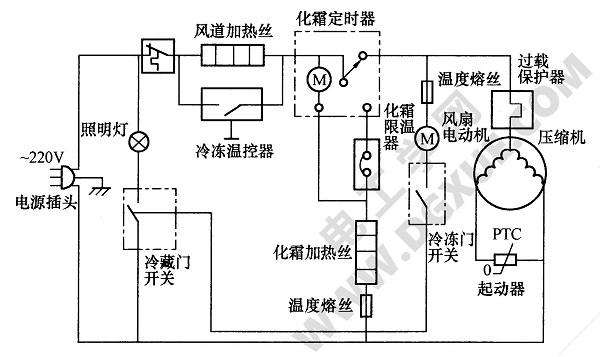 【电冰箱电路】_电工学网