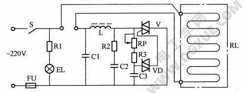 电热毯电路工作原理