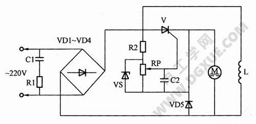 直流电动机调速电路