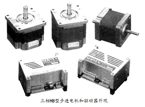 三相HB型步进电机及其驱动器