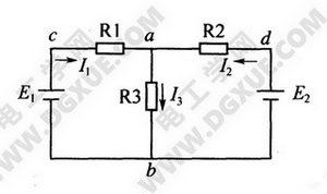 支路电流法电路图