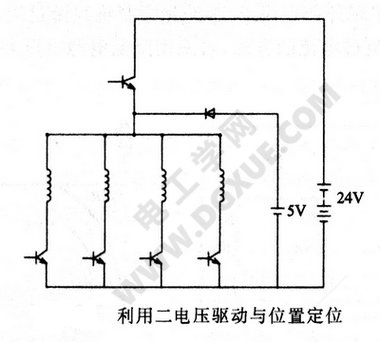 利用二电压驱动与位置定位