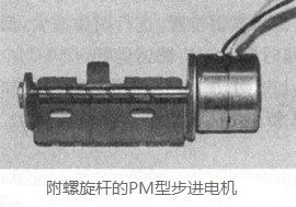 附螺旋杆的PM型步进电机