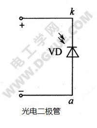 光电二极管符号